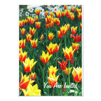 Flaming Tulips Card