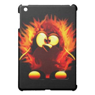 Flaming Tux (Penguin Torch) iPad Mini Cover