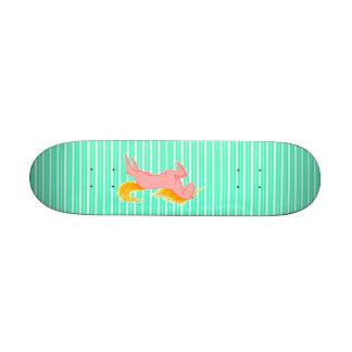 Flaming Unicorn Skate Board Decks