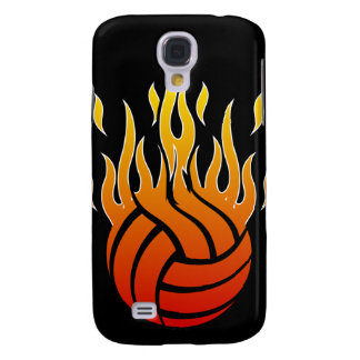 Flaming Volleyball iPhone Case