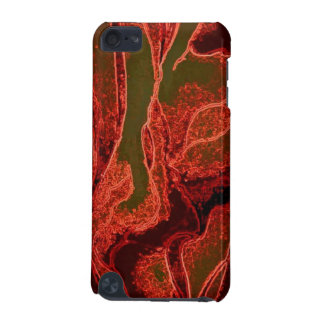 Flaming watercolor design for your i pod case