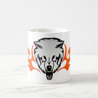 Flaming Wolf Coffee Mug