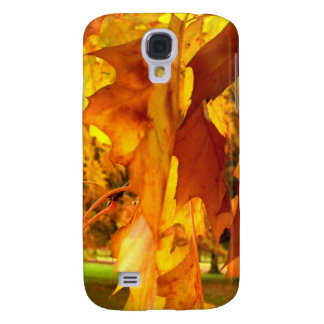 Flaming Yellow Samsung Galaxy S4 Cover