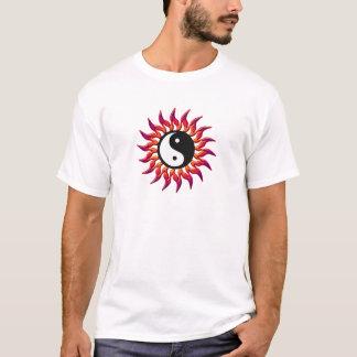 Flaming Yin Yang Sun T-Shirt