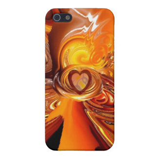 flamingheart cover for iPhone SE/5/5s