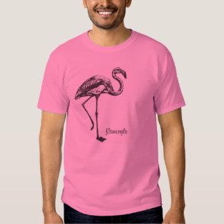 flamingle it up tee shirt
