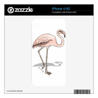 Flamingo #10 decal for the iPhone 4S