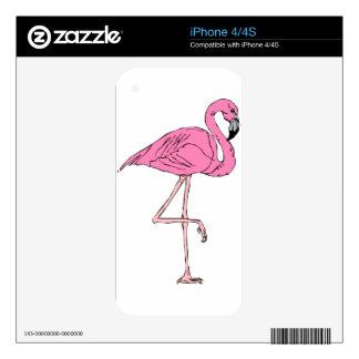 flamingo #10 skin for iPhone 4