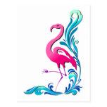 Flamingo 1 post card