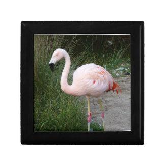 Flamingo #2 jewelry box