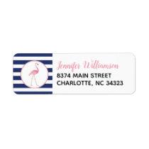 Flamingo Address Labels