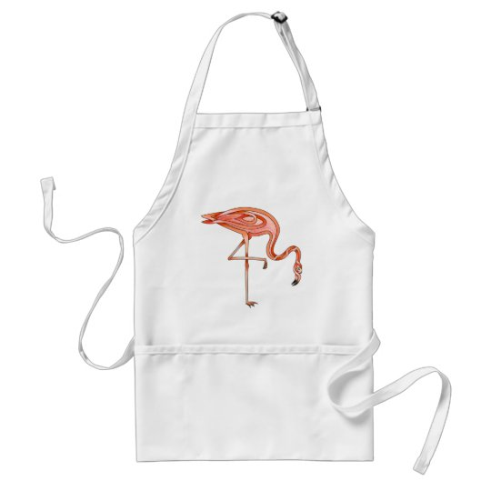 Flamingo Adult Apron