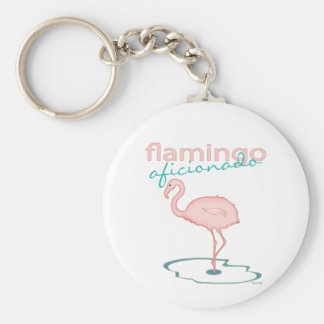 Flamingo Aficionado Keychain