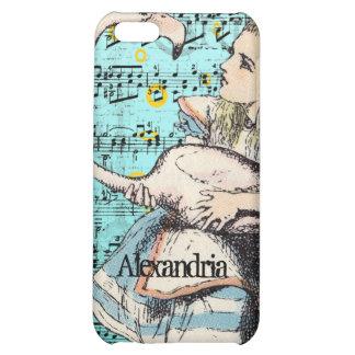 Flamingo Alice in Wonderland iPhone Case iPhone 5C Cover