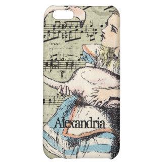 Flamingo Alice in Wonderland iPhone Case iPhone 5C Covers
