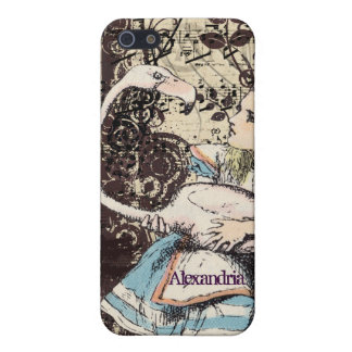 Flamingo Alice in Wonderland iPhone Case Cover For iPhone 5