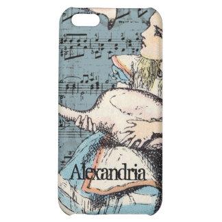 Flamingo Alice in Wonderland iPhone Case Cover For iPhone 5C