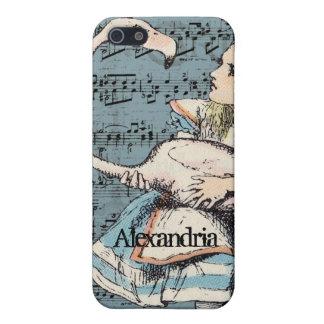 Flamingo Alice in Wonderland iPhone Case Case For iPhone 5
