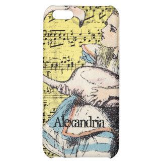 Flamingo Alice in Wonderland iPhone Case iPhone 5C Case