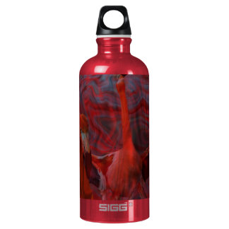 Flamingo Aluminum Water Bottle