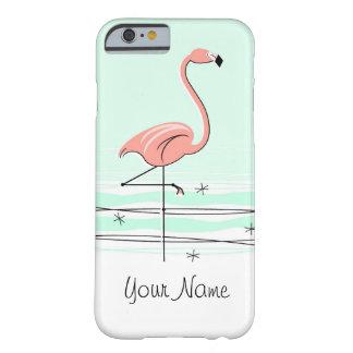 Flamingo Aqua 'Name' iPhone 6 case