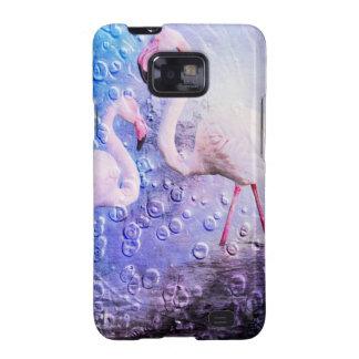 Flamingo Art 10 Samsung Galaxy S2 Cover