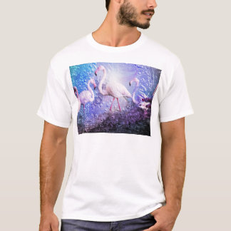 Flamingo Art 10 T-Shirt