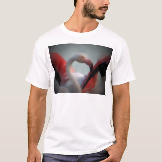 Flamingo Art 13d T-Shirt