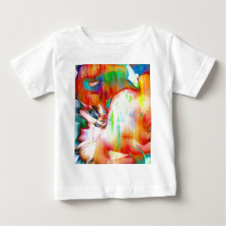 Flamingo Art 14j Baby T-Shirt