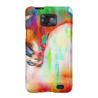 Flamingo Art 14j Galaxy SII Cases