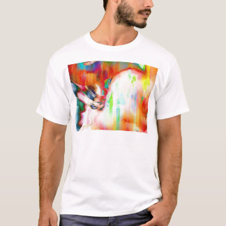 Flamingo Art 14j T-Shirt