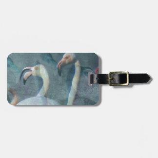 Flamingo Art 1 Bag Tag