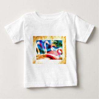 Flamingo Art 2 Baby T-Shirt
