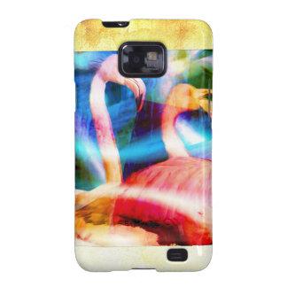 Flamingo Art 2 Galaxy SII Case