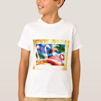 Flamingo Art 2 T-Shirt