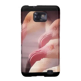 Flamingo Art 5 Samsung Galaxy S2 Cases