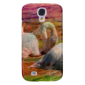 Flamingo Art Abstract HTC Vivid Cases