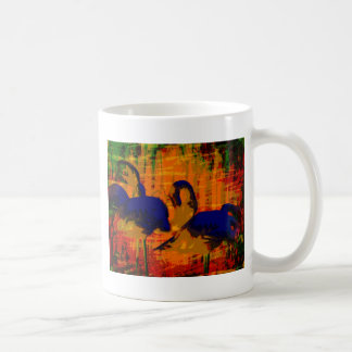 Flamingo Art Abstract Coffee Mug