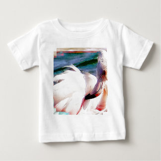 Flamingo Art Baby T-Shirt