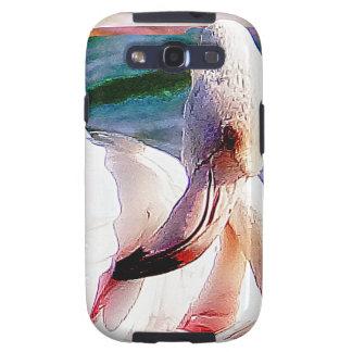 Flamingo Art Samsung Galaxy S3 Cases