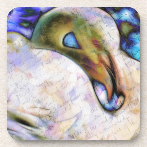 Flamingo Art Coaster