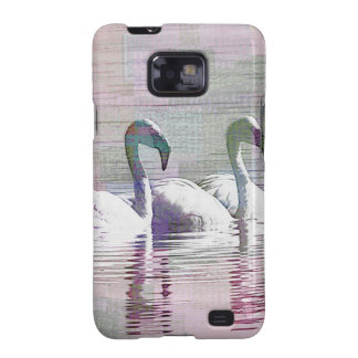 Flamingo Art Gifts Galaxy SII Cases