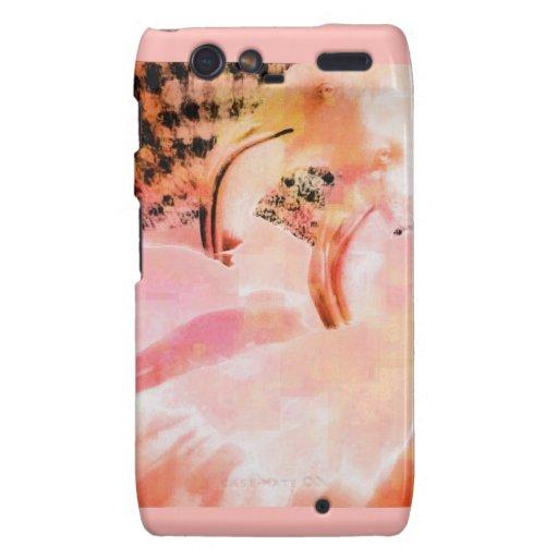 Flamingo Art Gifts Droid RAZR Covers