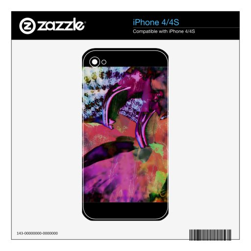 Flamingo Art Gifts iPhone 4 Decal