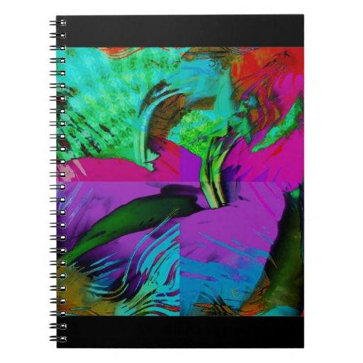 Flamingo Art Gifts Notebook