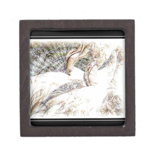 Flamingo Art Gifts Premium Keepsake Boxes