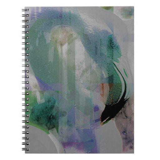 Flamingo Art Spiral Notebooks