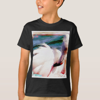 Flamingo Art T-Shirt