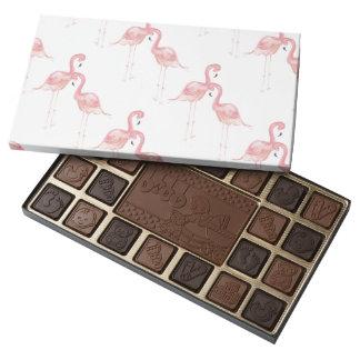 Flamingo Baby Shower Box of Chocolate Favors