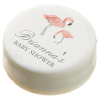 Flamingo Baby Shower Chocolate Covered Oreo